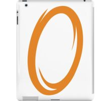 Orange Portal iPad Case/Skin
