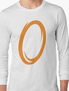 Orange Portal Long Sleeve T-Shirt