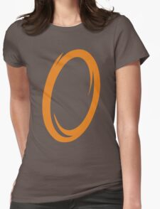 Orange Portal Womens Fitted T-Shirt