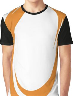 Orange Portal Graphic T-Shirt