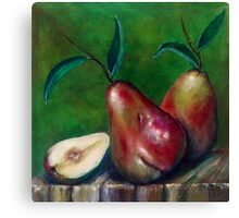 Pear Still life Canvas Print