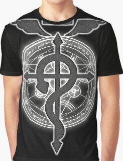 Fullmetal Alchemist Brotherhood Symbol Graphic T-Shirt