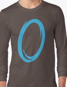 Blue Portal Long Sleeve T-Shirt