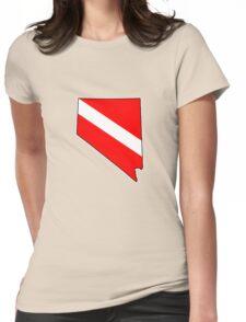 Dive flag Nevada outline T-Shirt