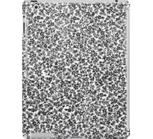 Vintage Floral Black and White iPad Case/Skin