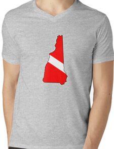 Dive flag New Hampshire outline T-Shirt