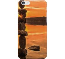 Happiness is.... by Thomas Merton iPhone Case/Skin