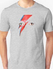 David Bowie Aladdin Sane Lightning Bolt Unisex T-Shirt