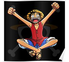 Luffy the Pirates 031 - Onepiece Poster