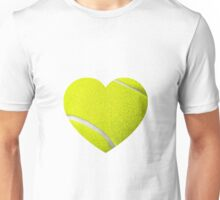 Tennis Heart Unisex T-Shirt