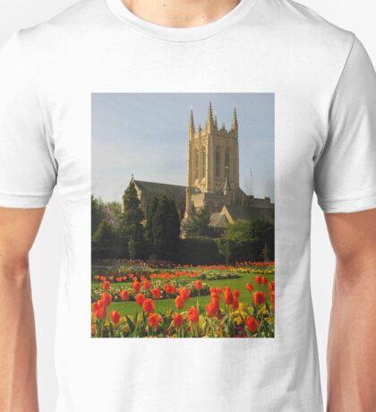 Bury St Edmunds Cathedral & Abbey Gardens Unisex T-Shirt