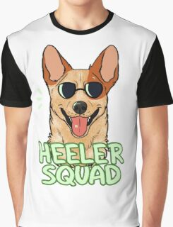 HEELER SQUAD (red) Graphic T-Shirt