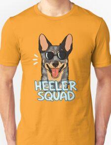 HEELER SQUAD (blue) T-Shirt