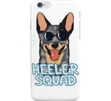 HEELER SQUAD (blue) iPhone Case/Skin