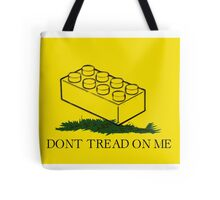 dont tread on legos Tote Bag