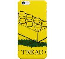 dont tread on legos iPhone Case/Skin