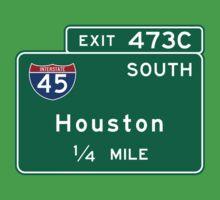 Houston I-45, TX Road Sign, USA Baby Tee