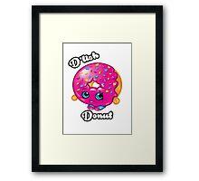 D'lish Donut Framed Print