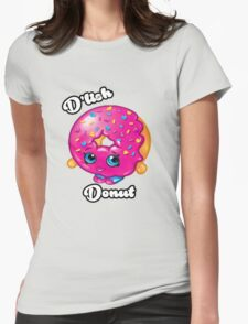 D'lish Donut Womens Fitted T-Shirt