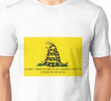 chav snakes are a menace Unisex T-Shirt