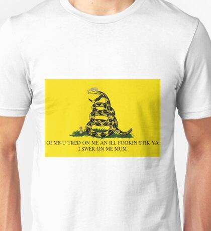 chav snakes are a menace Unisex T-Shirt