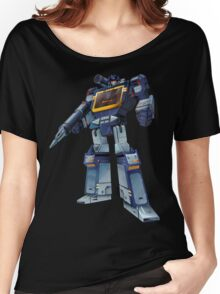 Masterpiece Soundwave (Transparent Background) Women's Relaxed Fit T-Shirt
