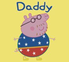 Daddy Pig 2 One Piece - Short Sleeve