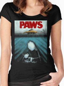 Paws Women's Fitted Scoop T-Shirt