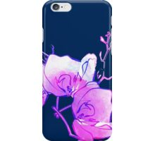 ink watercolour flower iPhone Case/Skin