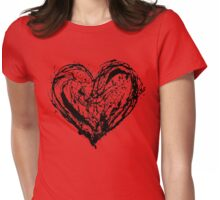 SCRAMBLE YOUR HEART Womens Fitted T-Shirt
