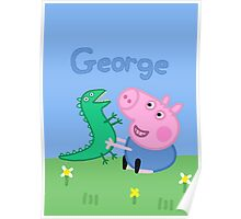 George Pig Poster