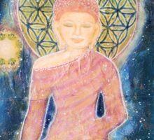 Happiness Buddha Sticker