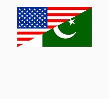 usa Pakistan half flag Unisex T-Shirt