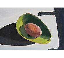 Avocado And Shadows Painting Photographic Print