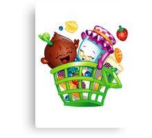 Basket Delight Canvas Print