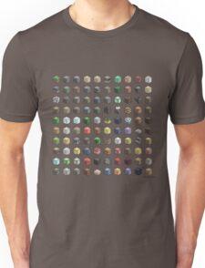 100 Minecraft Blocks Unisex T-Shirt