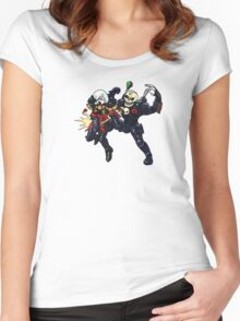 Ouch! 40K Women's Fitted Scoop T-Shirt