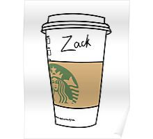 CUSTOMIZED HIPSTER :: ZACK Poster