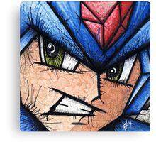 Mega Man the Blue Bomber Canvas Print