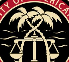 BCS - University of American Samoa Law School Sticker