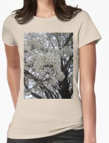 Blossoms Before A Storm Womens Fitted T-Shirt