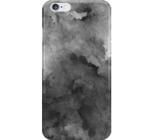 ink style of black watercolour texture iPhone Case/Skin
