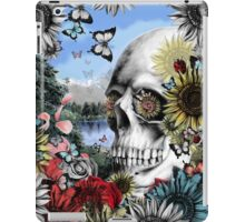 Nature skull landscape iPad Case/Skin