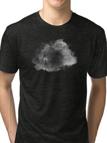ink style of black watercolour texture Tri-blend T-Shirt