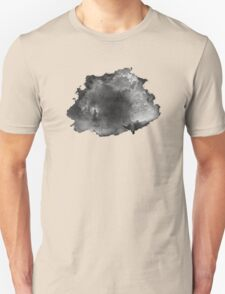 ink style of black watercolour texture Unisex T-Shirt