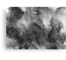 ink style of black watercolour texture Canvas Print