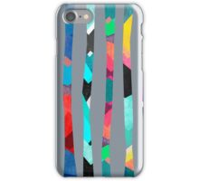 Trees / Grey iPhone Case/Skin