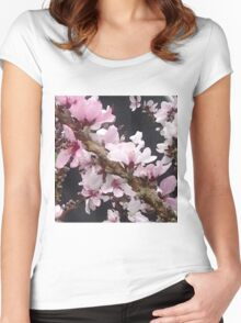 Pink Spring  Women's Fitted Scoop T-Shirt