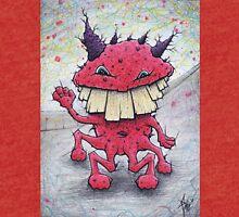 Friendly Red Monster Tri-blend T-Shirt