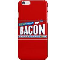 Funny Bacon Shirt | Breakfast of Hampions | Bacon Lover iPhone Case/Skin